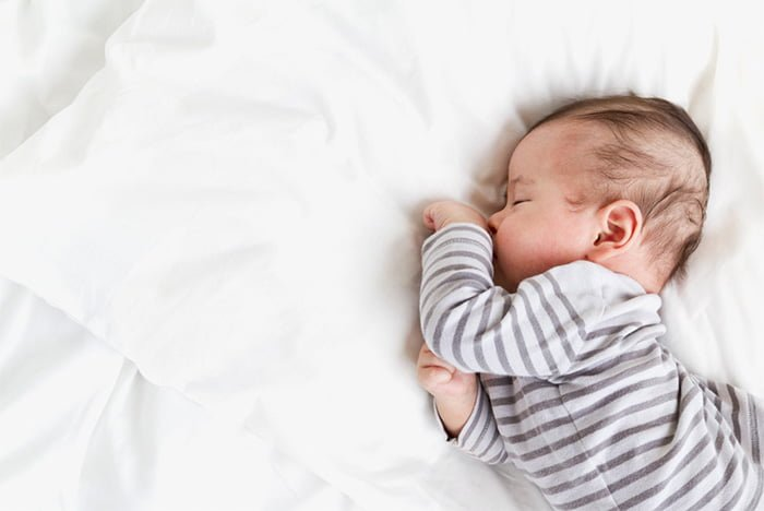 грудничок много спит