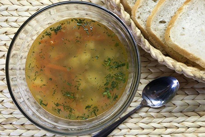 суп на мясном бульоне для ребенка