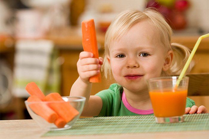 морковный сок для грудничка