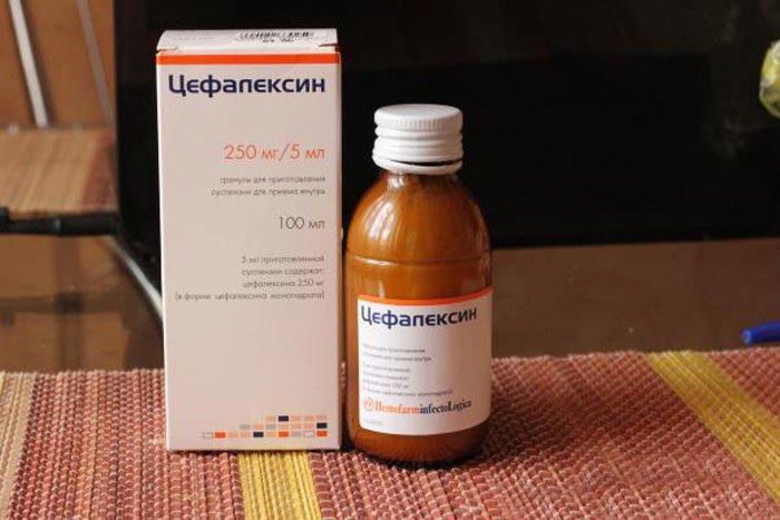 цефаликсин для новорожденных