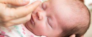 массаж глаз новорожденному
