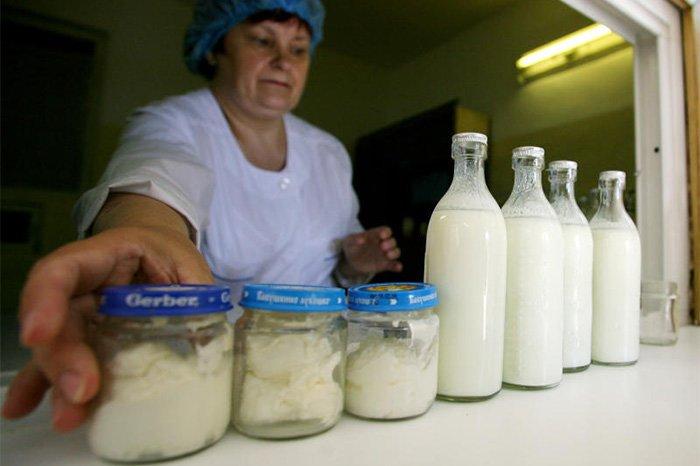 бесплатные продукты на молочной кухне
