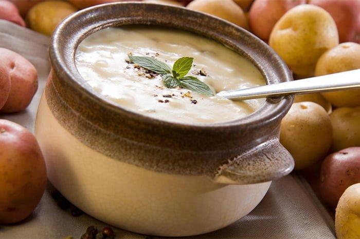 молочный суп с картофелем для грудничка
