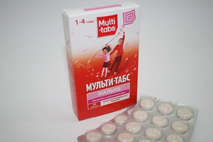 витамины мульти табс беби
