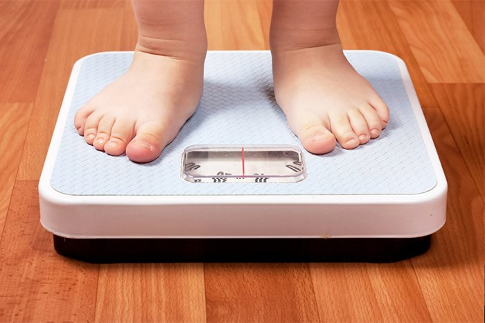 вес у ребенка