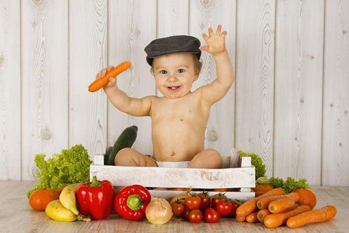 овощи в прикорме