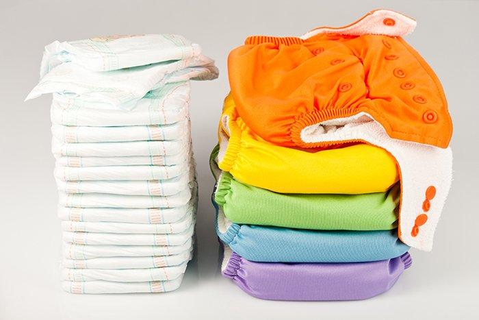 подгузники и памперсы для новорожденного
