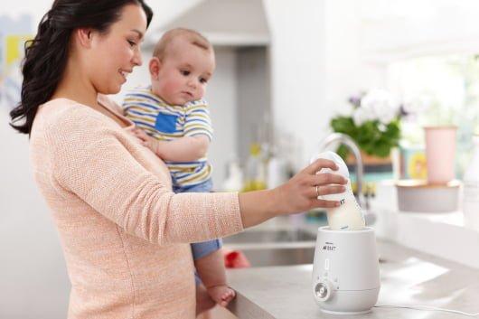 размораживание грудного молока в бутылочке