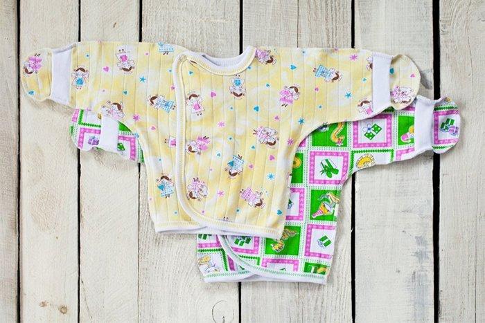распашонки с длинным рукавом для новорожденных