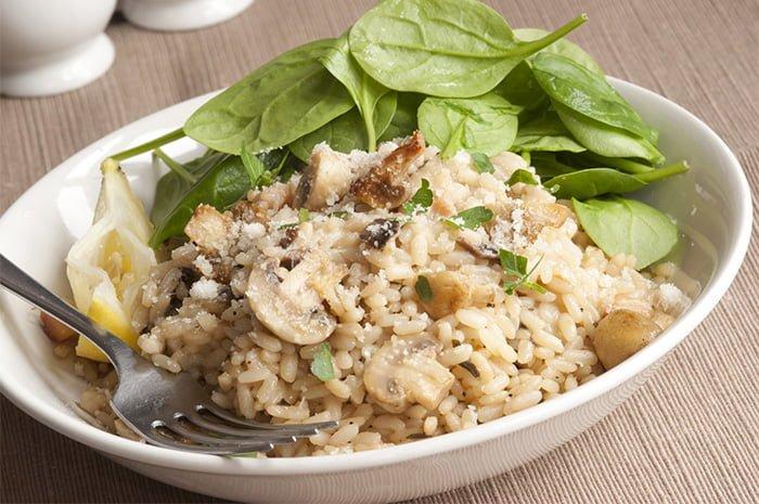 Рецепты блюда риса с грибами