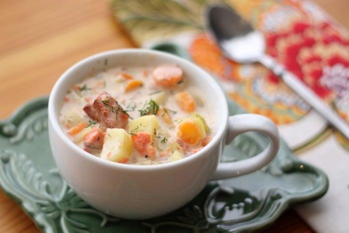 рыбный суп для первого прикорма грудничка