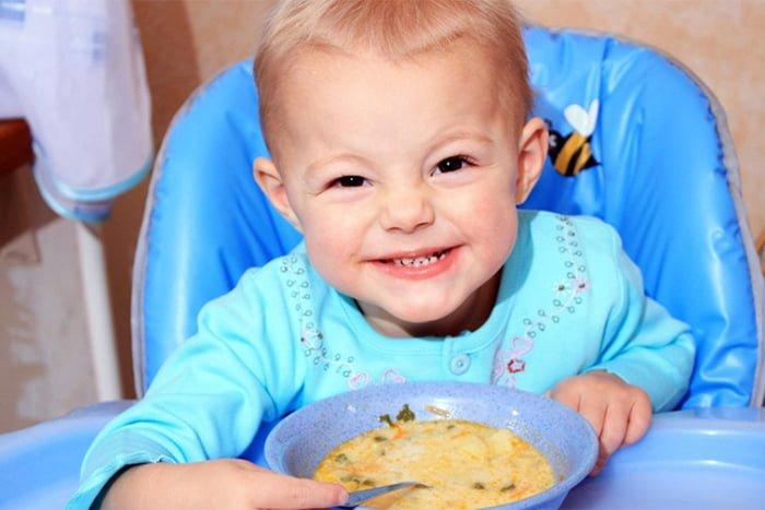 с какого возраста ребенку можно фасолевый суп ребенку