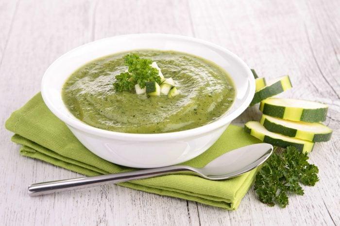 суп пюре с кабачком для грудничка
