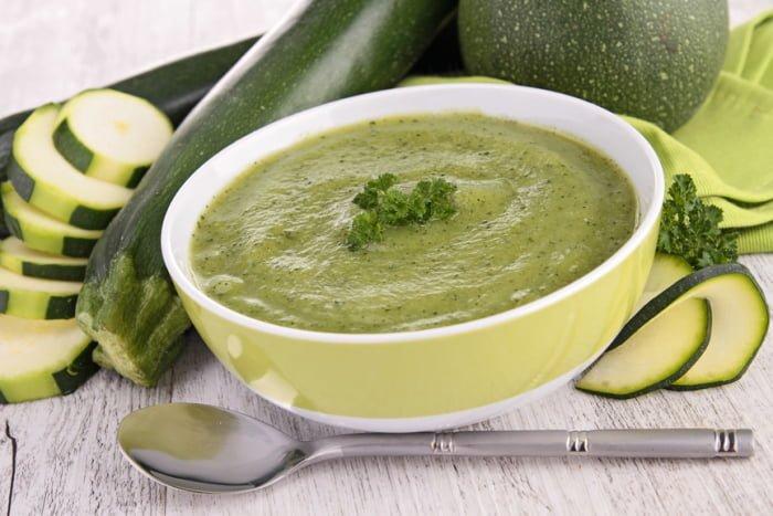 суп-пюре с кабачком для грудничка