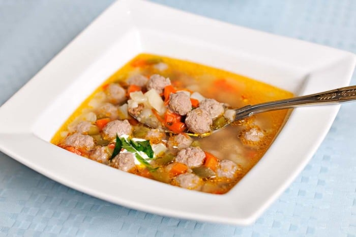 суп с фрикадельками для грудничка