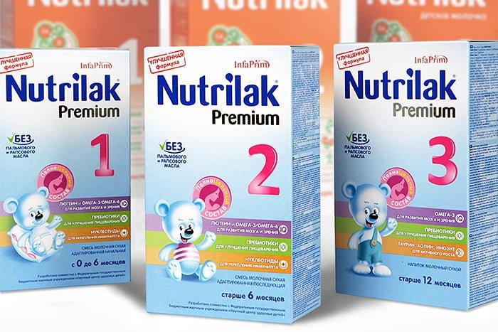 возрастная маркировка молочных смесей для новорожденных