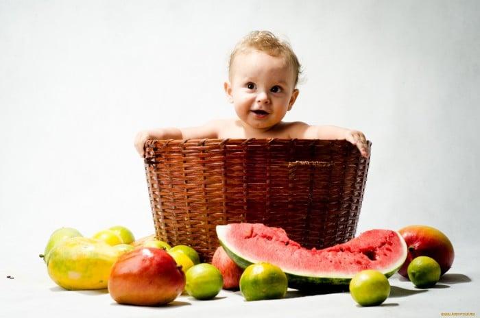 фрукты для грудничка