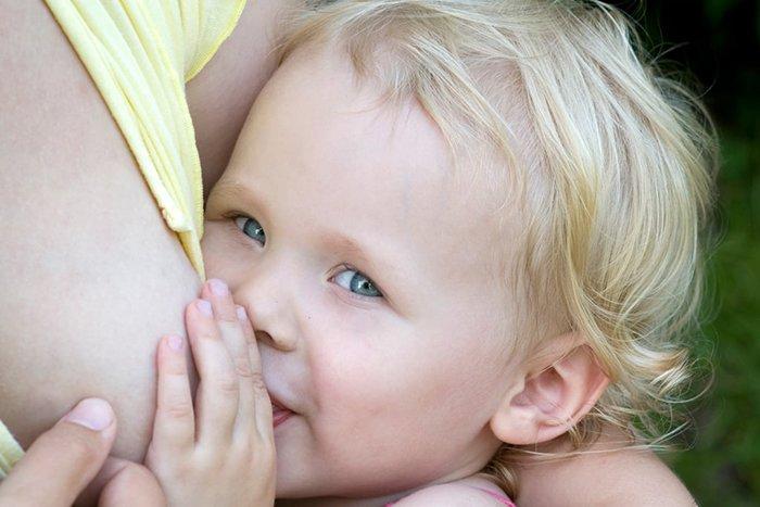 польза гв для ребенка после года