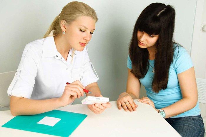 консультирование пациентки