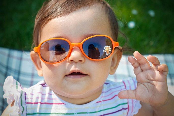 солнцезащитные очки для грудничка