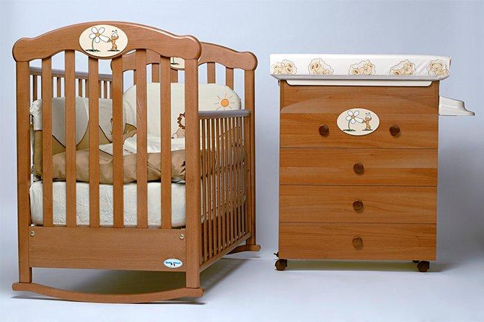 качалка для новорожденного