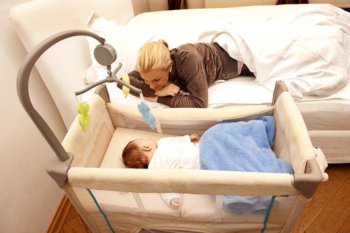 кроватка для грудничка