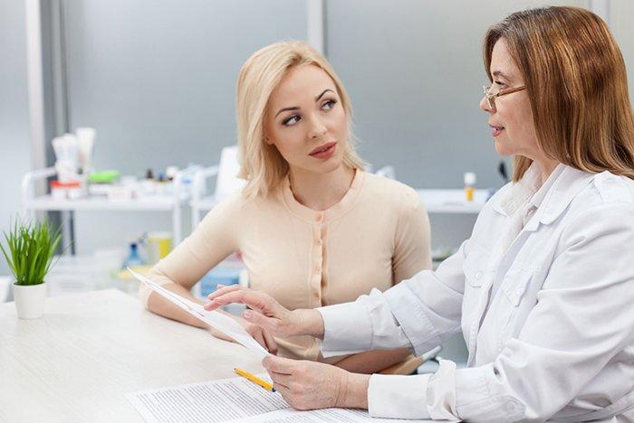 врач назначает лечение кормящей маме