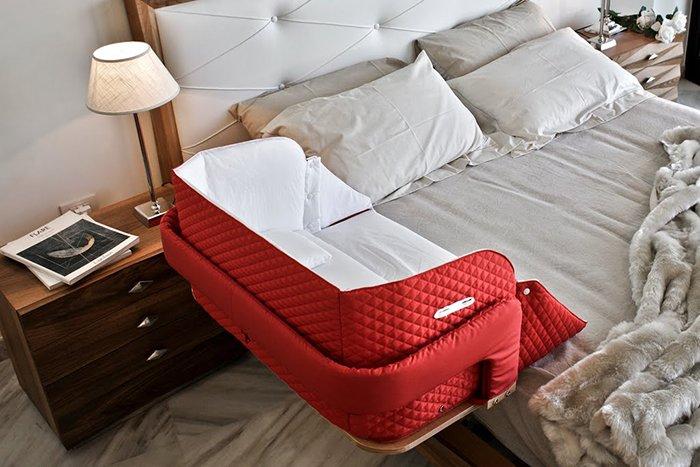 кроватка для совместного сна мамы и грудничка