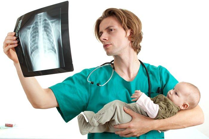 диагностика пневмонии у новорожденных