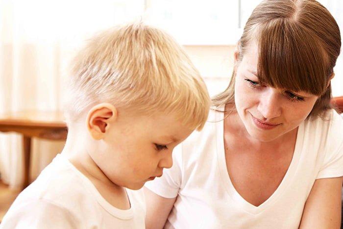 общение матери с ребенком