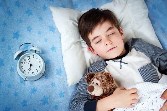 продолжительность сна у ребенка после пяти лет