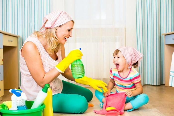 приучение ребенка к порядку