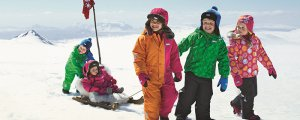 дети в зимней одежде рейма
