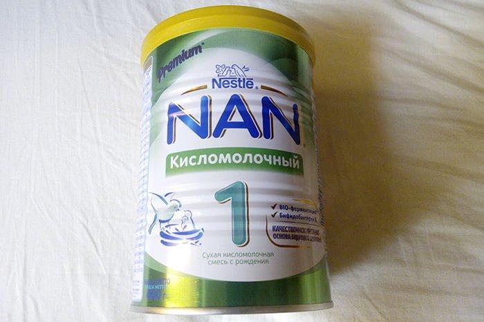 молочная смесь при смешанном вскармливании