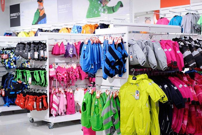 линейки детской одежды рейма