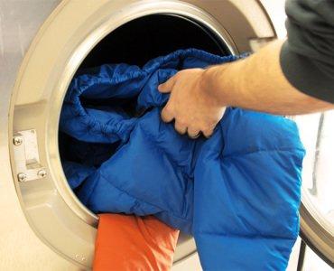 стирка зимней куртки в стиральной машине
