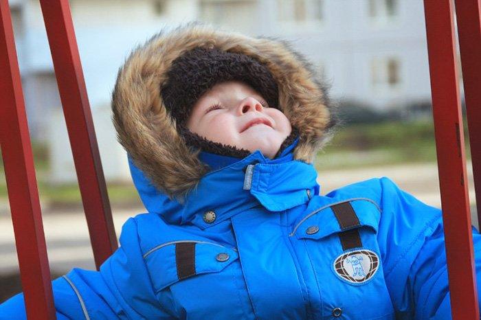 теплая зимняя одежда для детей