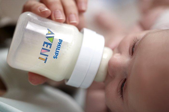 бутылочка авент для кормления грудничка