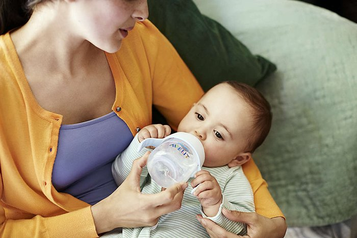 поильник для новорожденного