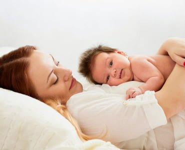 совместный сон мамы и малыша