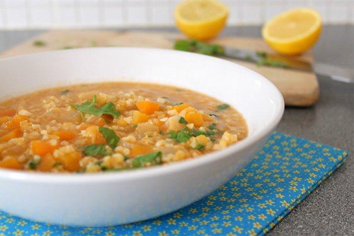 суп с крупой булгур