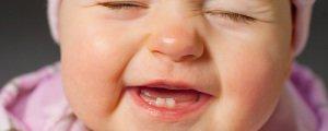 молочные зубы у грудничка