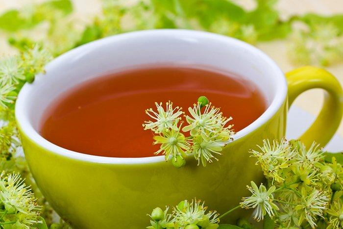 липовый чай грудничку