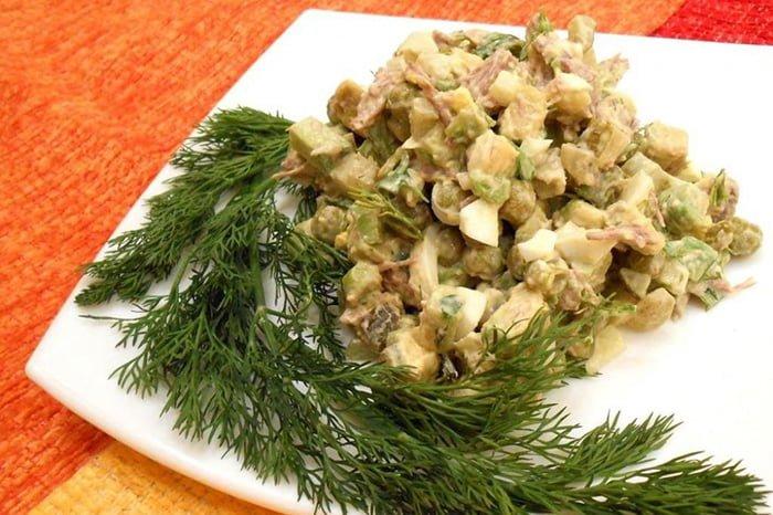 новогодний салат для всей семьи