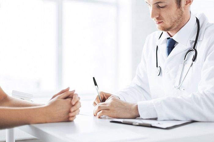 прием пациента у врача