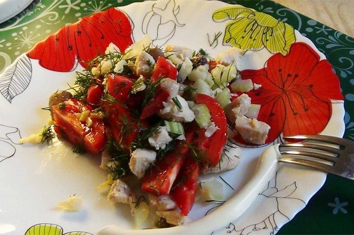 вкусный салат с каперсами для всей семьи