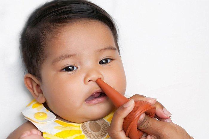 аспиратор для лечения насморка у детей