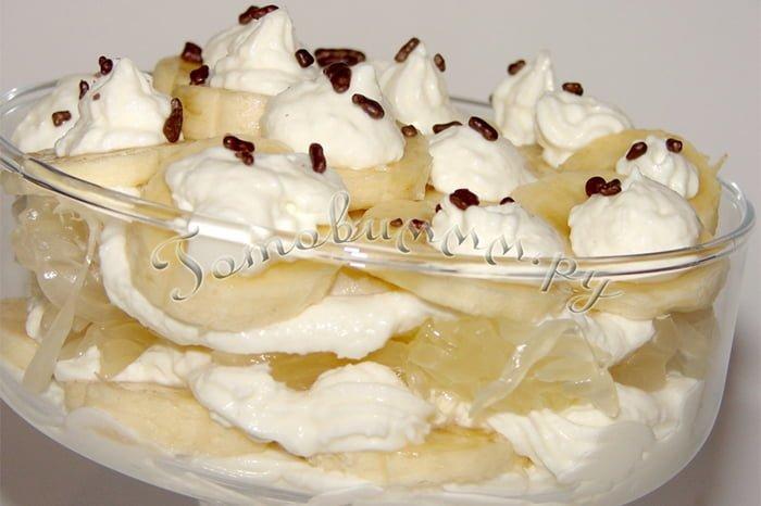 десерт с помело для детей