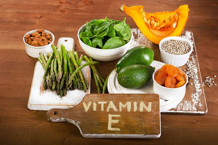 продукты с витамином е для детей