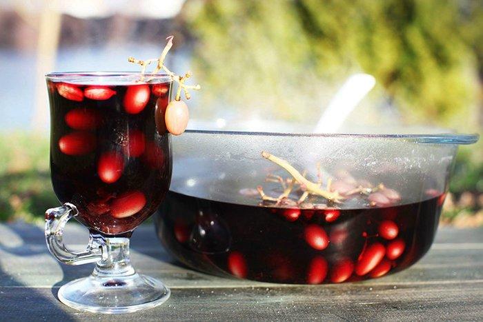 глинтвейн на виноградном соке